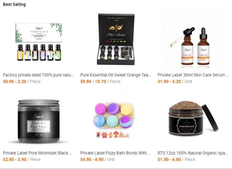 Amazon eBay Shopee Wish Hot Sale Original 100% Natural Detoxifying Coconut Calcium Bentonite Indian Healing Clay Mask