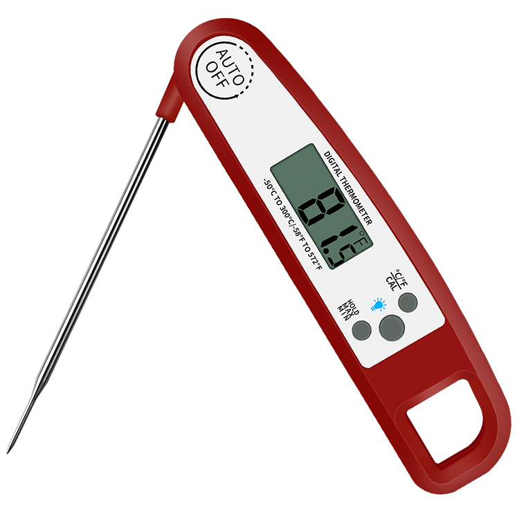 New instant Read Magnetic LCD Backlight Digital food Probe Meat Thermometer with Cook Temperature Chart