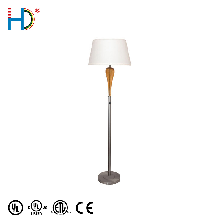 Home decoration standing lamp European Contemporary Metal floor lamp for hotel