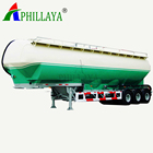 3 Axle Cement Tanker Semi Trailer Fly Ash Transport