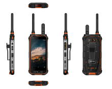Android 8.1Rugged Mobile Phone B31 LTE DMR PPT + POC Doppio Walkie Talkie Per Smartphone