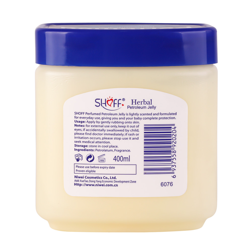 Direct Factory Price Petroleum Jelly White 400ml