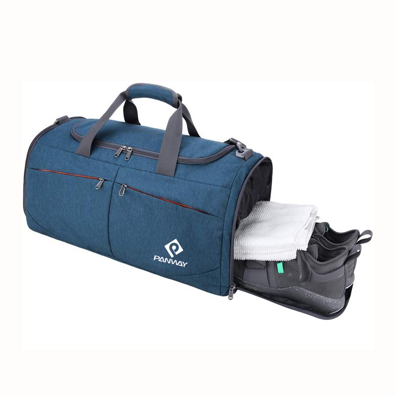 Encargo al por mayor impermeable gimnasio bolsa para los hombres y las mujeres de Nylon viajes bolsa de lona