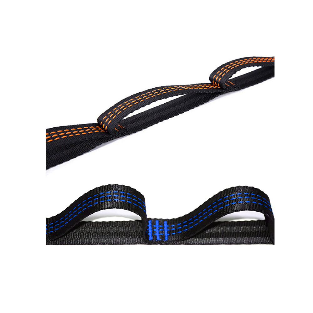 Adjustable hammock strap hammock cycle strap with round iron buckle