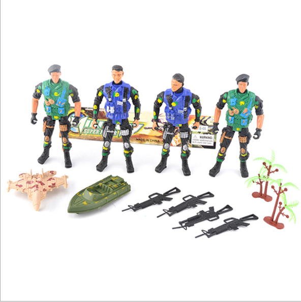 Mini small military soldier toy army action figure plastic pvc 54mm roman painted soldier custom russian 1/6 force toy figure