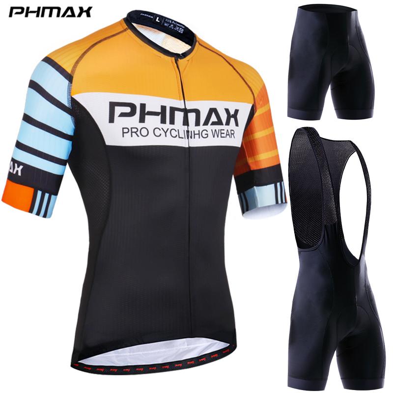 Indumentaria De Ciclismo Bicicleta Ropa De Manga Corta Bicicleta Camiseta Pantalones Cortos Set Hombres Traje de deporte