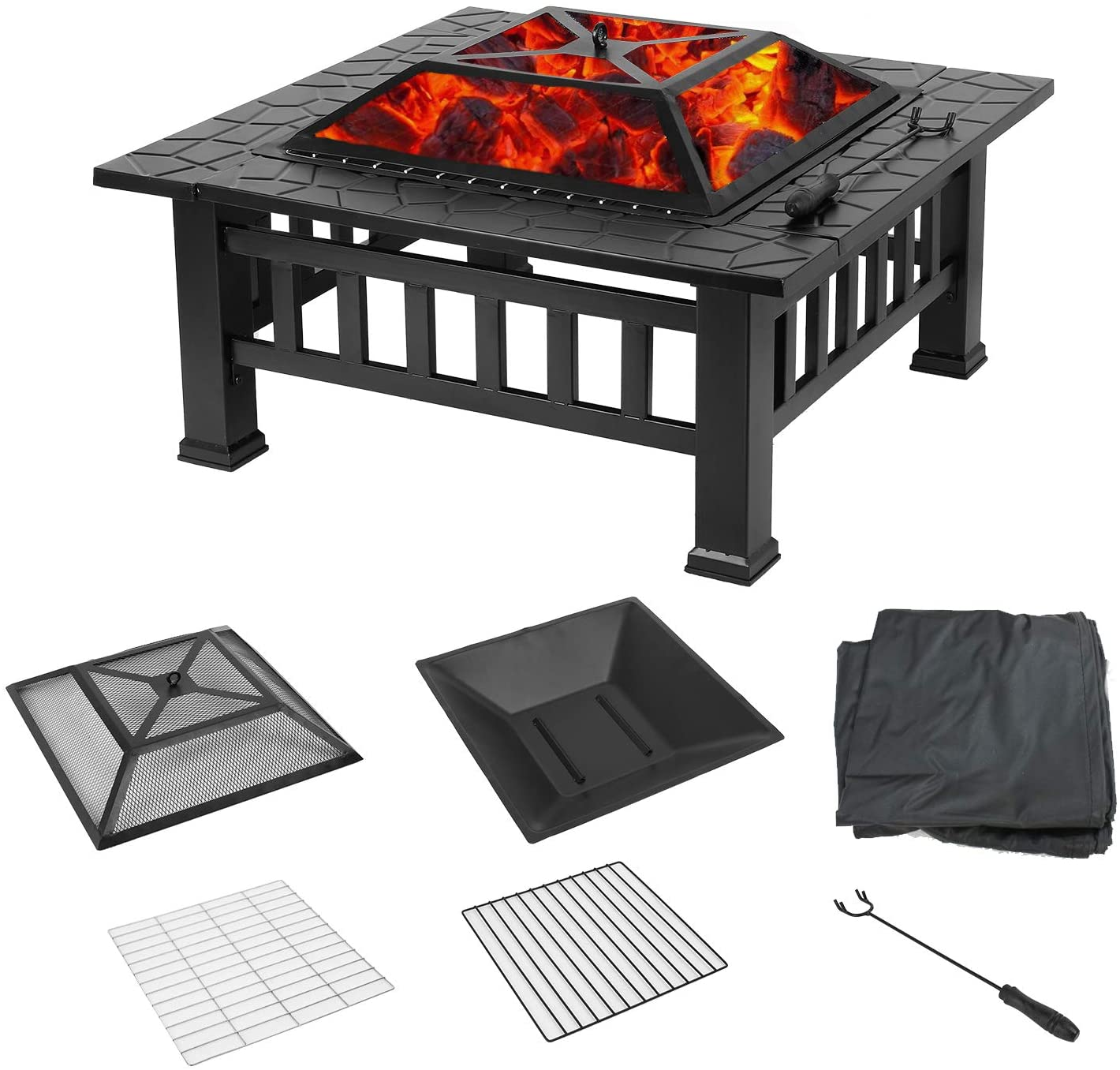 Portable Custom Fire Pit Bbq Garden Firepit Table Dinning Sets For Sale Buy Firepit Tables Garden Firepit Table Dinning Sets Dining Table With Firepit Product On Alibaba Com