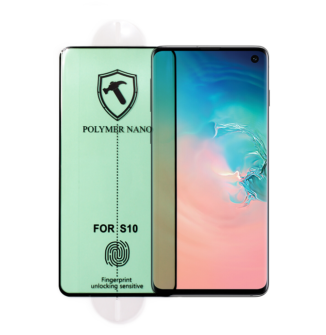 Curved Screen PMMA Full Glue Polymer Nano Screen Protector for Samsung S10 S10 Plus