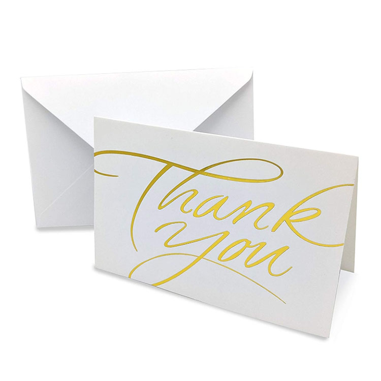 Customized design birthday greeting Thank You <strong>Cards</strong> With envelope