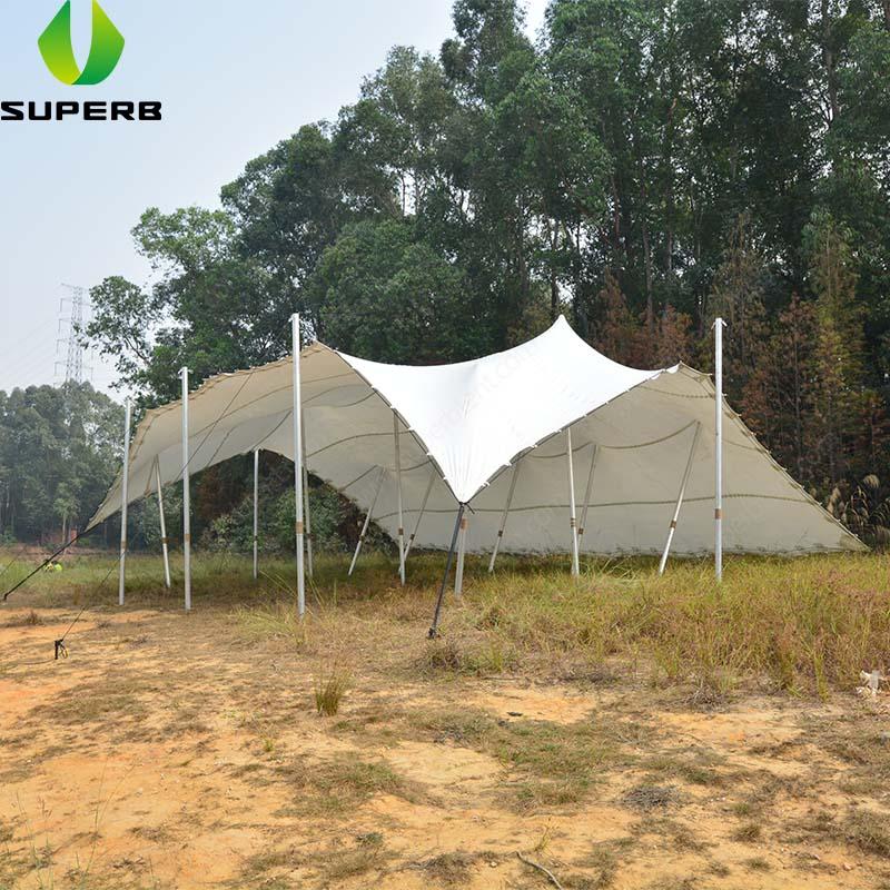 Tienda de campaña elástica alternativa, tienda de campaña impermeable para exteriores