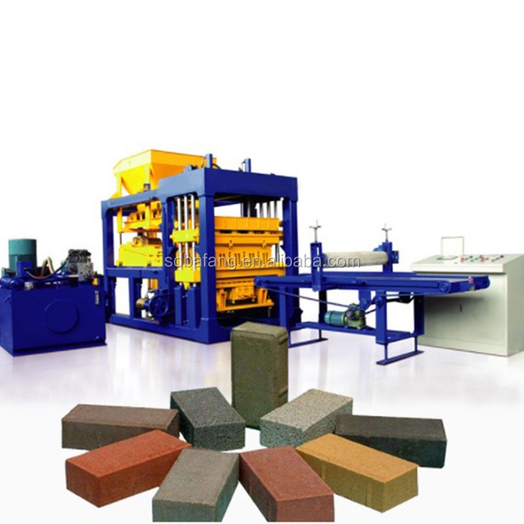 Concrete Block Making Machine Hydraulic Cement Hollow Paving Brick Making Machine