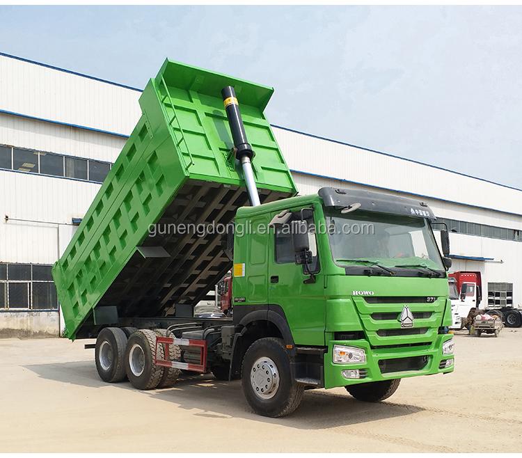 Nguồn nhà cung cấp giá rẻ sử dụng howo xe tải tự đổ 10 bánh xe dumper cho bán
