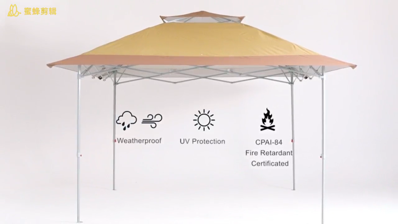 ABCCANOPY 13x13FT Garden Gazebo Tent Instant Shelter Pop Up Canopy 4X4M Outdoor Sun Shade for Patio,Outdoor Event