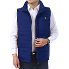 Electric Heated Vest Men Women Heating Waistcoat USB Thermal Warm Cloth Hot Sale Winter Jacket warm clothes