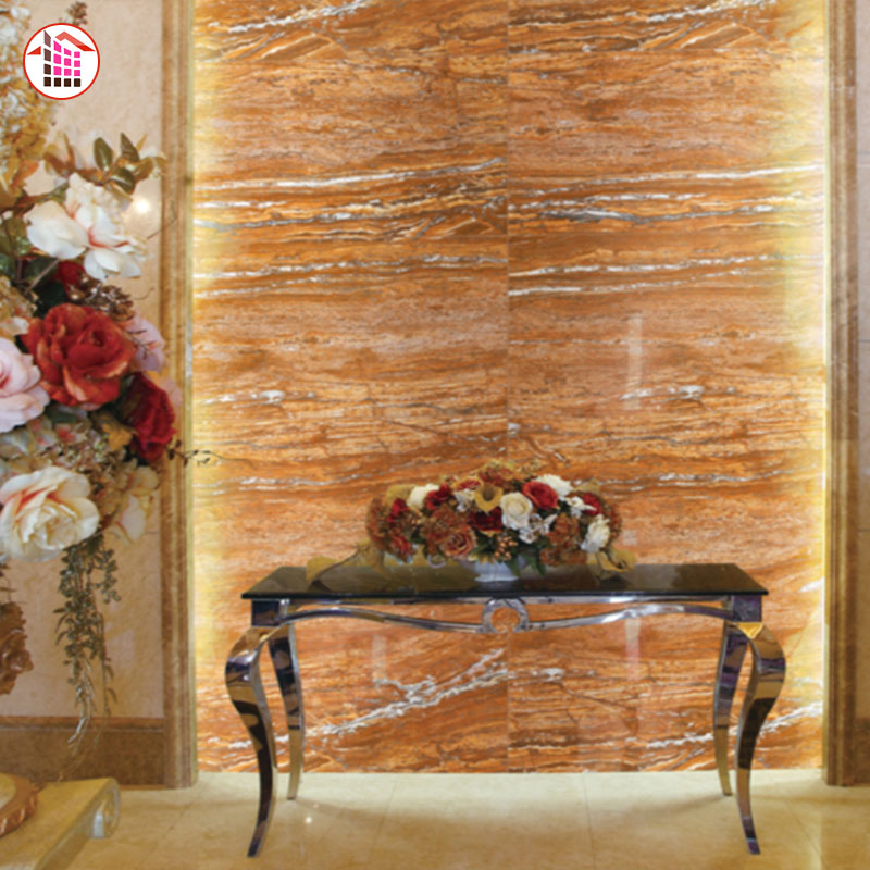 Exotic gold line vains marble and Romantic marble