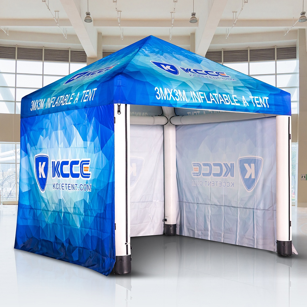 Luxury high quality air sealed fast set up outdoor canopy tent, display canopy tent//