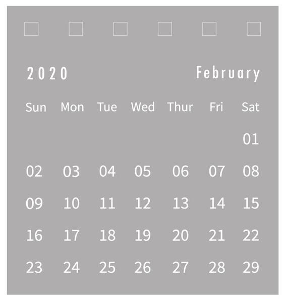 1 шт. простой ежедневник 2020 планировщик маленький настольный календарь еженедельник ежемесячный список Настольный календарь офисные прина...(Китай)