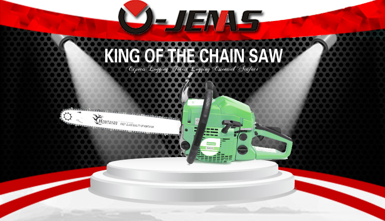 Completed chainsaw 5200 5800 58cc with great quality parts