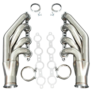 In stock racing stainless steel 201 customized turbo car exhaust header  manifold for Chevy 97-14 V8 LS1/LS/LS3/LS6