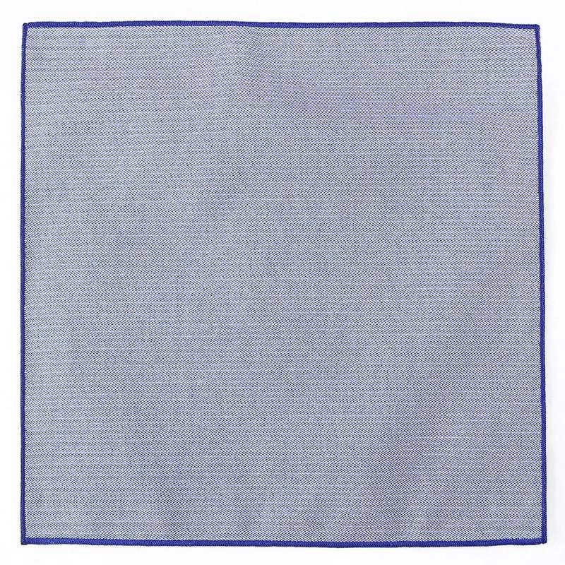 High Quality Polyester pocket square plain color  handkerchief