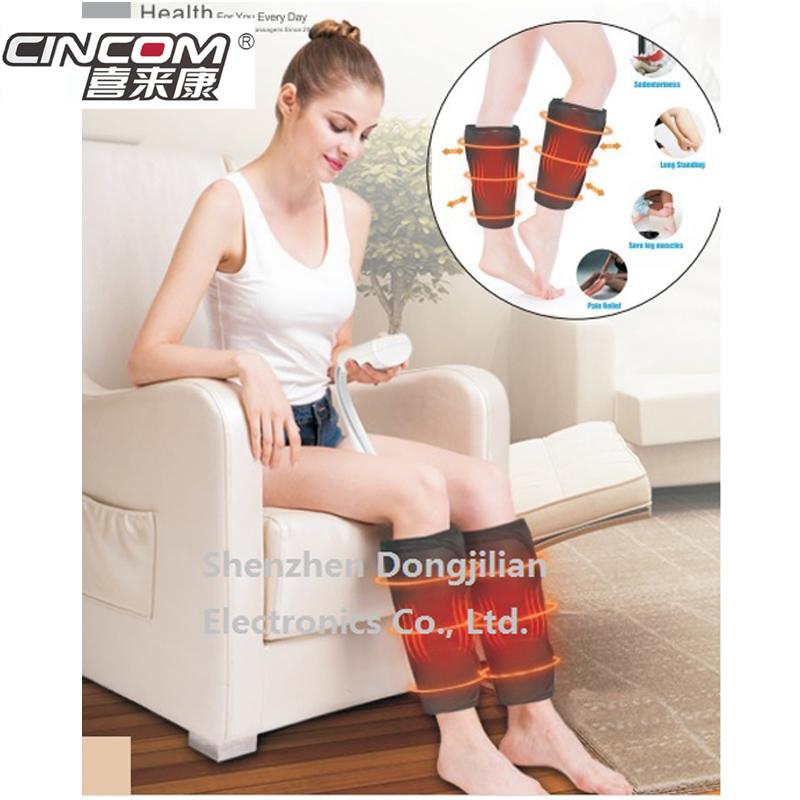 Mit heizung luft bein compression massager