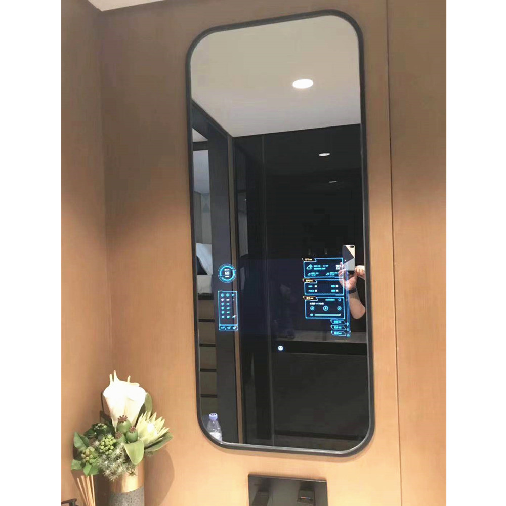 Android Smart Touch Screen Interactive Magic Mirror Tv Lcd Display Screen Advertising Mirror With Builti In Camera Buy High Quality Smart Touch Screen Interactive Magic Mirror Smart Magic Mirror Lcd Display Screen Digital