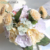 Cheap Artificial Floral Rose Bridal Bouquet For Wedding Party Decoration