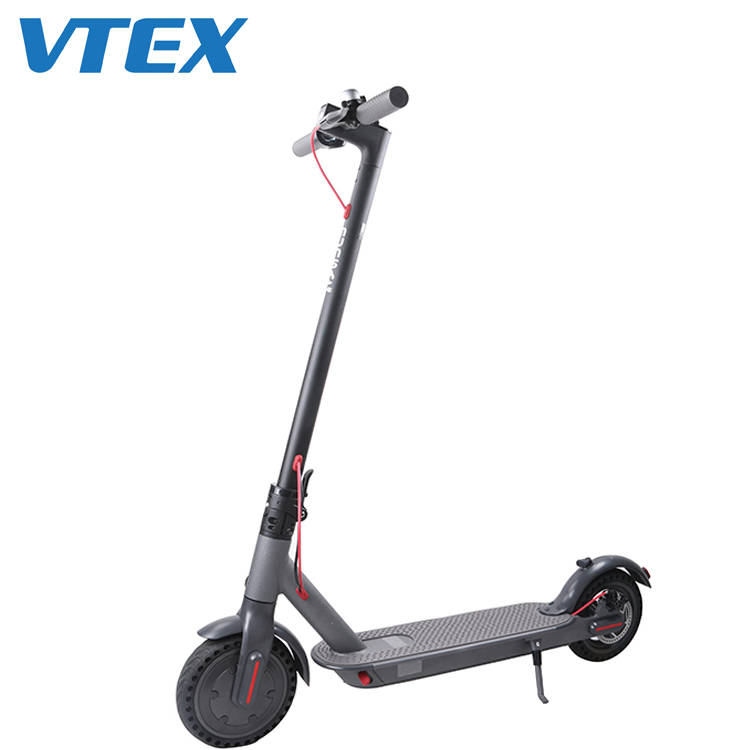 8.5 inches Solid Tire 250W 350W Powerful Adult Foldable Two Wheel Electric Scooter elektrik scooter