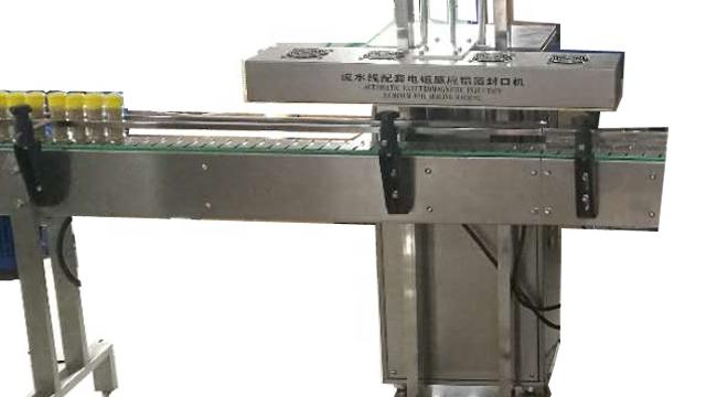 Electro-contínua indução magnética garrafa de plástico automática máquina de selagem da folha de alumínio selador