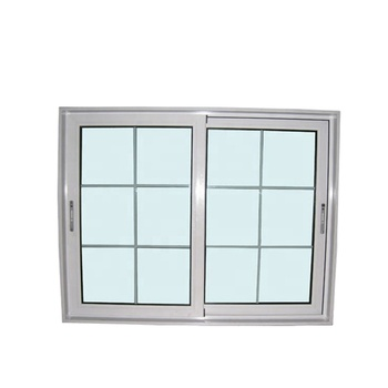 pvc/upvc/plastic sliding window with window frames with security bars