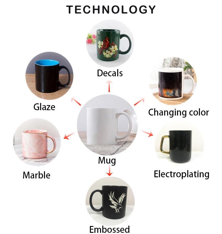 Popüler üst sınıf seramik mat siyah boş ucuz kahve kupa kişiselleştirilmiş