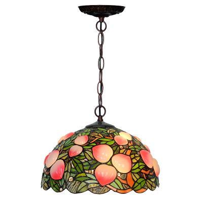 Romantic traditional handmade style tiffany lamps classic stained glass hanging tiffany lamp bases for home decor