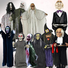 Funny walking ghost doll cute decorative luminous creative ornaments for Halloween props