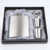 7 Oz Stainless Steel Hip Flask Set dengan Kaca dan Corong