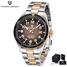PAGANI Design 2020 новые роскошные модные спортивные мужские механические часы, топ-бренд, автоматические часы, мужские стальные водонепроницаемые...(Китай)