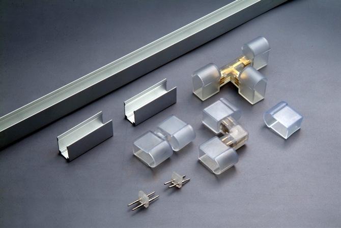 Elektronik akrilik Led mektuplar dekoratif Custom Made led noel Neon tabela ile kısılabilir APP RGBW kontrol
