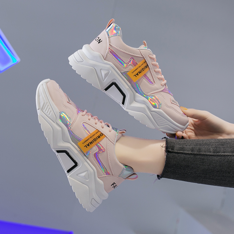 Wholesale In Stock Female Shoes Casual Sneakers for Women