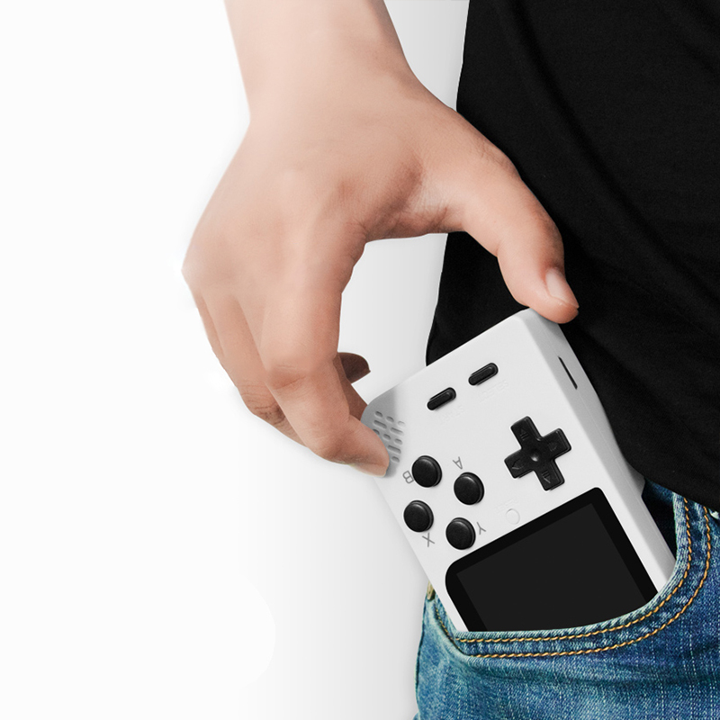 2020 updated Dropshipping to Worldwide 32BIT Handheld Game Players Amazing Retro Game 2000 games video games console