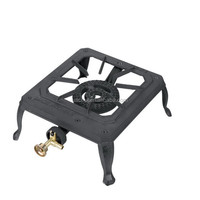 Cast Iron Single burner/gas cooker /portable camping gas stove