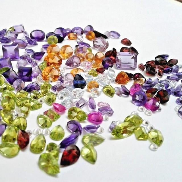 Factory Direct Wholesale Price Various Sizes And Shapes synthetic and natural Loose Gemstone For Jewelry making
