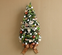 Christmas tree christmas ornaments Hanging the Christmas tree upside down mini tree wedding decoration
