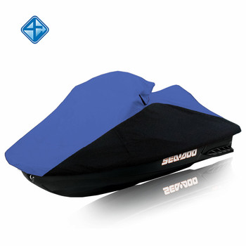 600D Trailerable PWC jetski cover Personal Watercraft Jet Ski Cover with All-Weather Ripstop Fabric