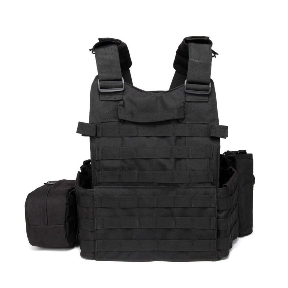 Tactical US army 6094 military combat bullet proof vest  police security molle chest vest