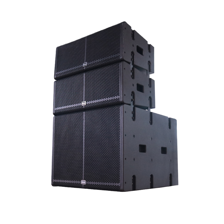 Sinbosen Powered Speaker SA-208B DSP Professional Dual 8 Inch Line Array DJ Pa System Speaker