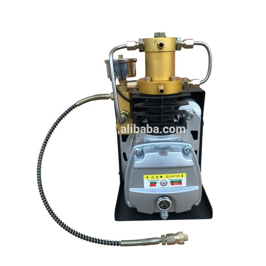 TUXING 220V 4500 psi 300bar Auto Purge PCP High Pressure Air Compressor for Air Rifles