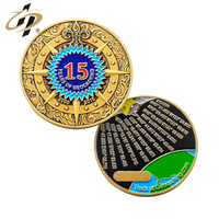 Creative design custom enamel metal challenge coins made in China