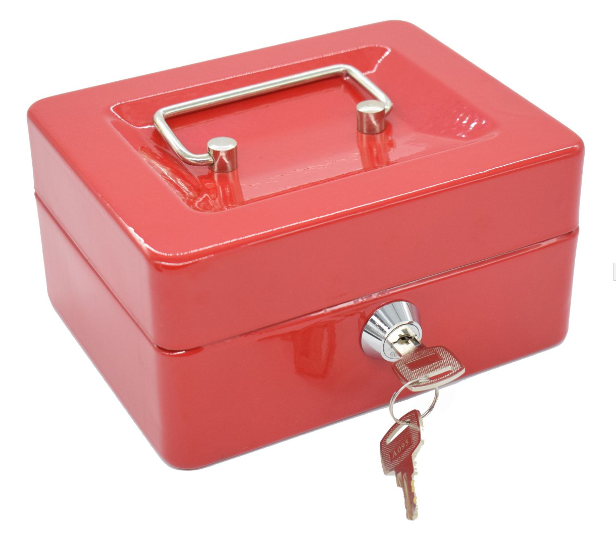 Kleine Metall POS Geld Sicher Cash Box
