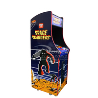 60 in 1 Arcade Space Invaders 19 inch LCD Upright Classic Game Machine Coin Operated Games