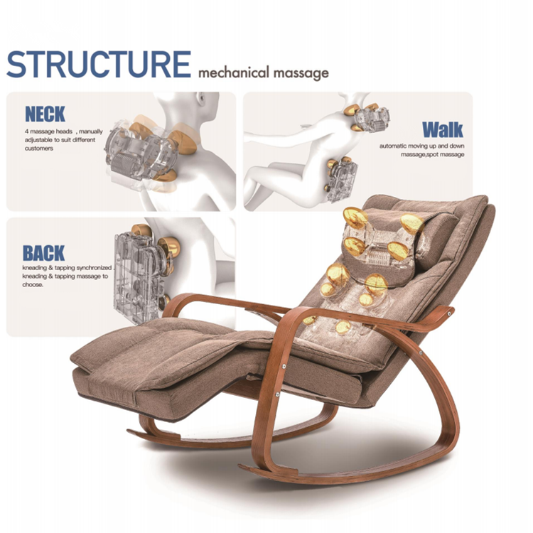 Modern Home Comfortable Relaxing Electric Massage Sofa Chair on Sale
