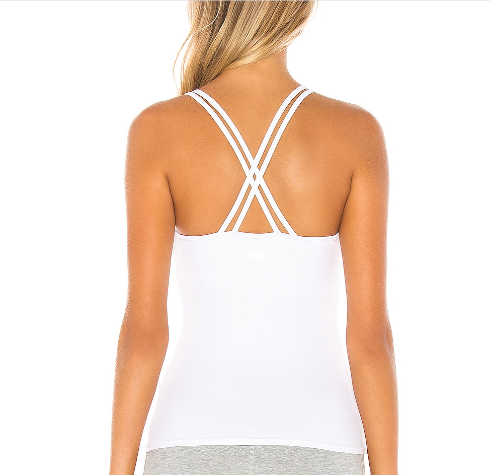 Quick-drying  92% Polyester 8% SpandexWorkout Yoga Fitness Sports Racerback Tank Tops for Women Women's Workout Shirts Racerback